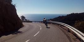 Fotografie von Cycling in Costa Brava in Blanes